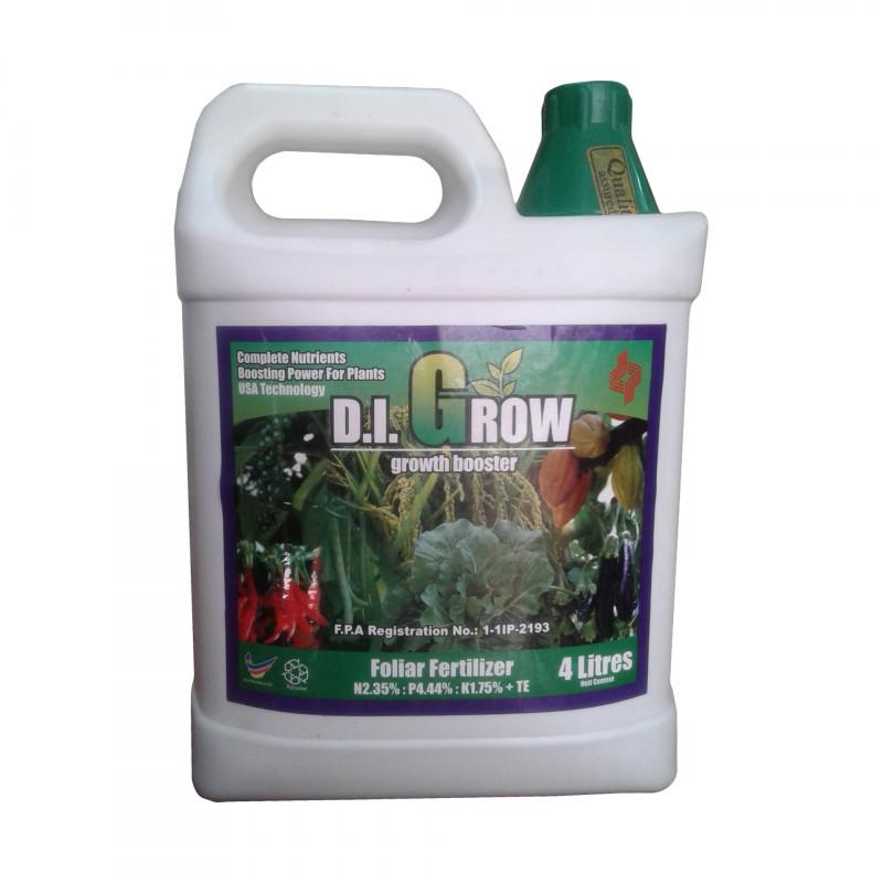 D.I. GROW GREEN - Growth booster 4 Litre