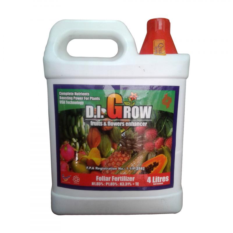 D.I. GROW RED-Fruits & Flower Enhancer 4 Litre