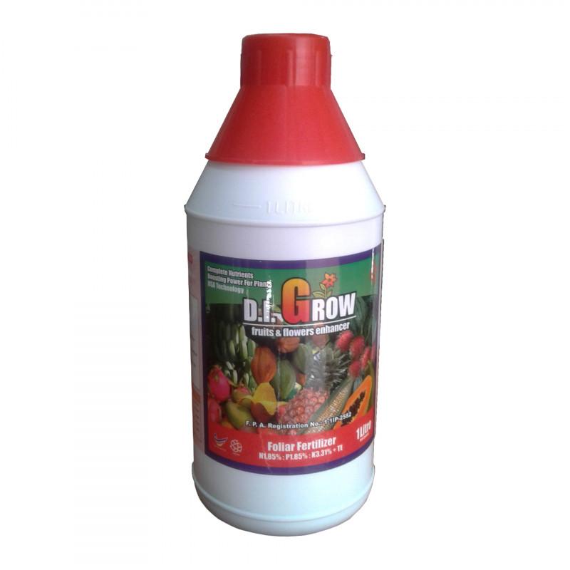 D.I. GROW RED - Fruits & Flower Enhancer 1 Litre